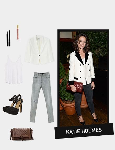Get the look: Katie Holmes