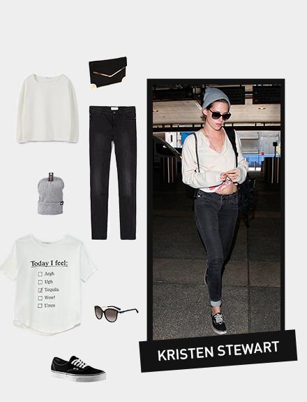 Get the look: Kristen Stewart
