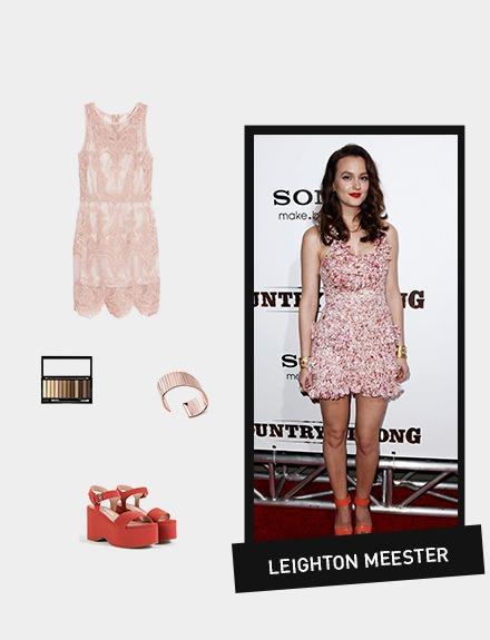 GET THE LOOK: Leighton Meester