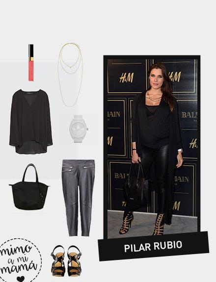 Get the look: Pilar Rubio