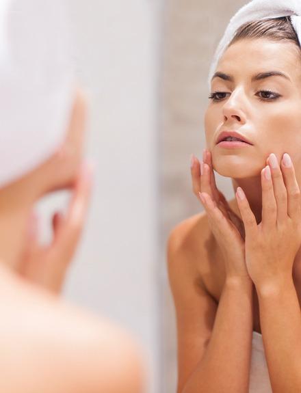 Evita el acné