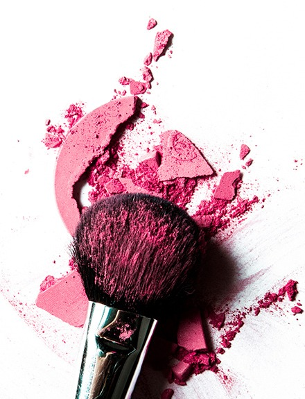 El blush mejor si es rosa