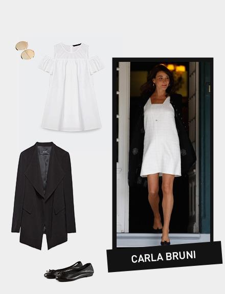 get the look: Carla Bruni