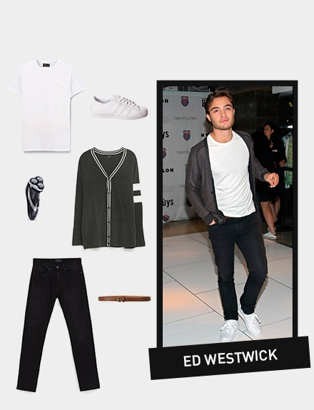 GET THE LOOK: Ed Westwick