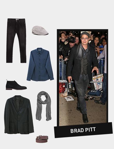 Get the look: Brad Pitt