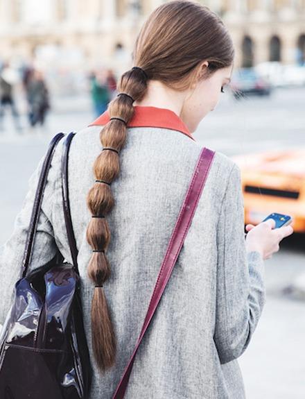 Cómo hacerte el peinado de moda: La coleta burbuja
