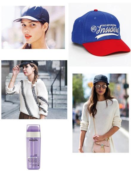 La prenda del mes: La gorra y tres peinados para llevarla
