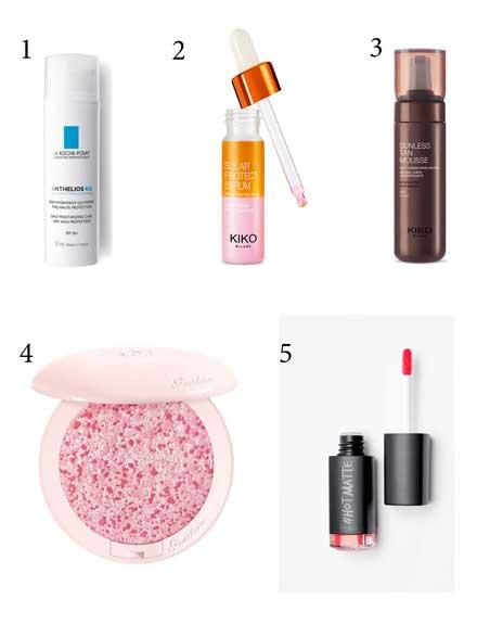 ¿Cuáles son los productos de belleza estrella de esta primavera-verano?