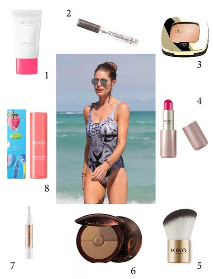 Cómo cambiar tu look de belleza de la playa al chiringuito