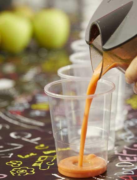 Los 5 zumos saludables que aprendimos a hacer en el día healthy