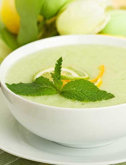 3 recetas frías para combatir el calor