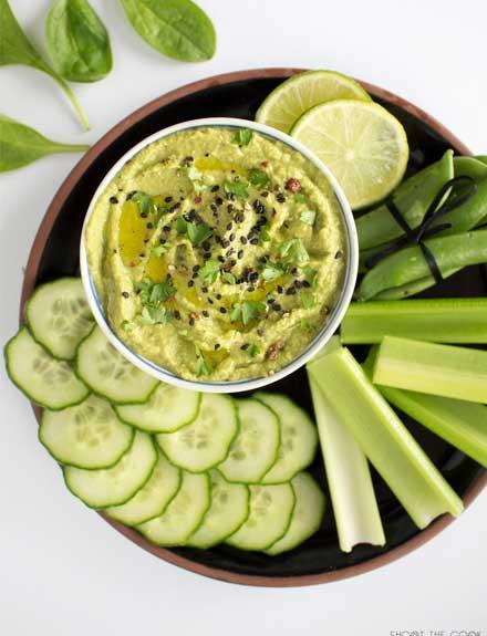 Hummus de brócoli: una receta sana, vegana y rica en antioxidantes