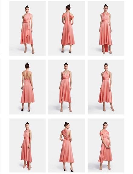 Vestido maxi multiposiciones