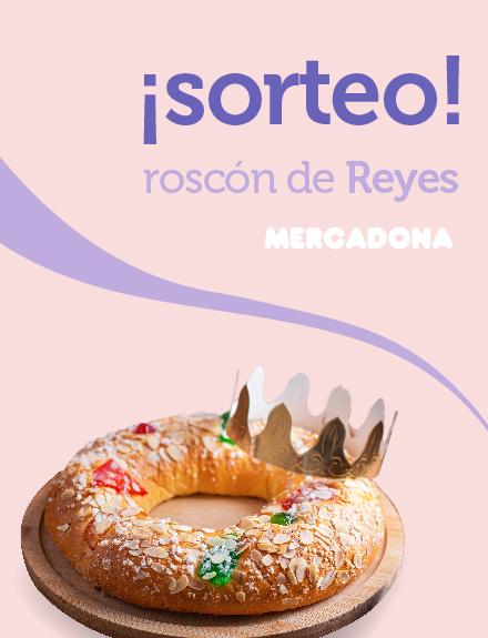 Sorteo Roscón de Reyes.