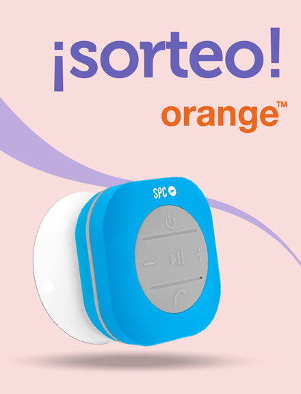 Sorteamos un Altavoz Inalámbrico Impermeable SPC Splash-Speaker de Orange.