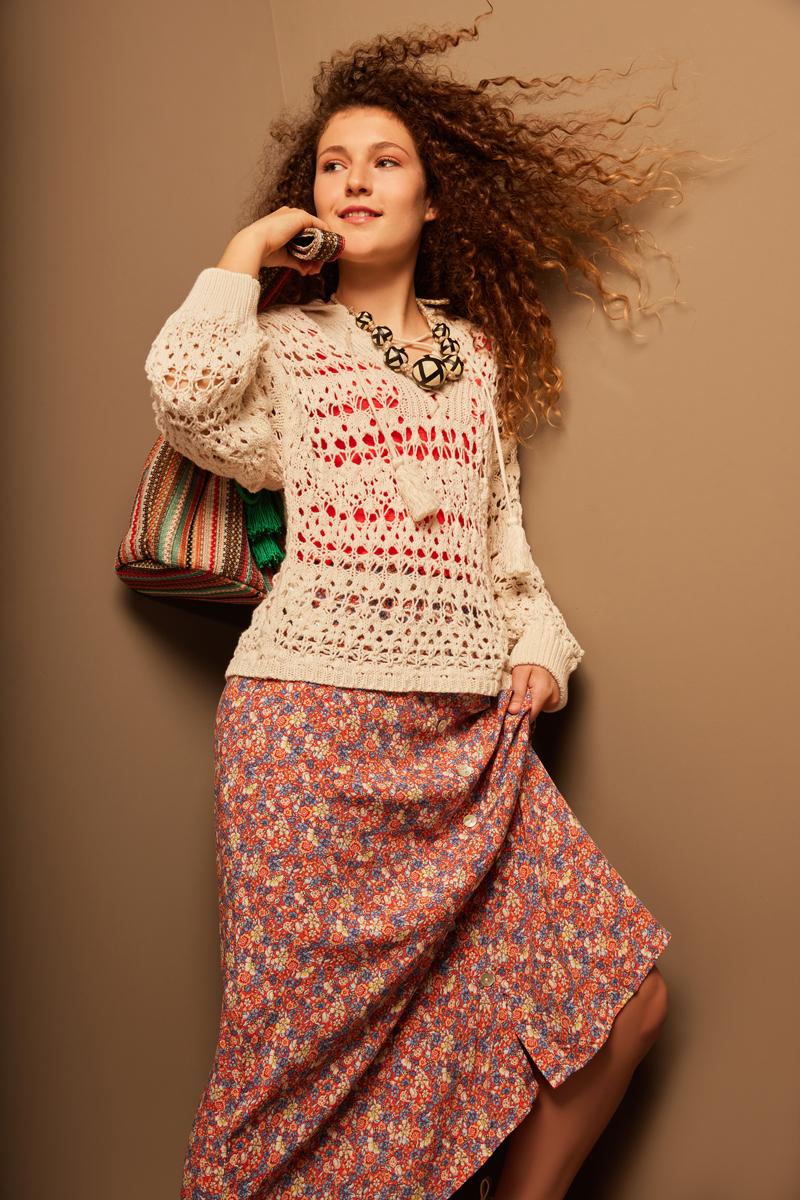 Ana Pizarro, nuestra modelo teenager