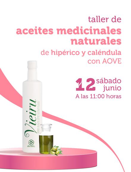 Taller de aceites medicinales naturales